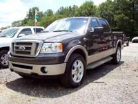 2007 Ford F150 SuperCrew, 4x4, 5.4 V8 Auto, King
