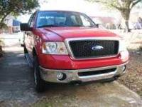 2007 Ford F150 XLT Super Cab. The Ford F150 has a