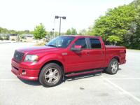 2007 F150 XLT Series 4x2 Crew Cab Red Fire Clearcoat