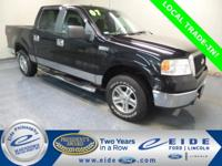 2007 Ford F-150 Crew Cab XLT Highlighted with Sirius