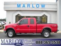 2007 FORD SUPER DUTY F-250 XLT WITH FX4 PACKAGE, COLOR: