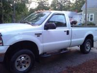 Selling a 2007 Ford F250 xlt regular cab 5.4 4x4 with