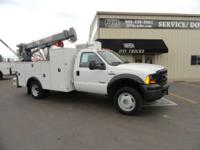 2007 Ford F550 2007 Ford F-550 Service Truck 2007 Ford
