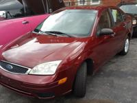 2007 FORD FOCUS 4CYL. SEDAN 4D ZX4 SE $600.00 DOWN