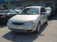2007 FORD FOCUS 4 DOOR ,AUTOMATIC, 4 CYL ALLOY WHELLS,