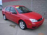 Options Included: N/A***2007 Ford Focus SES***VIN: