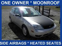 Power Moonroof! One owner! Options include Air