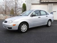 This 1-owner 2007 Ford Focus ZX4 S is like new! Just