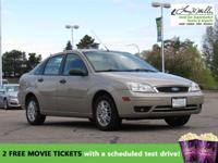 This 2007 Ford Focus will sell fast -AM/FM Radio Based