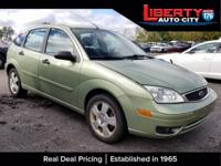 Kiwi Green Clearcoat Metallic 2007 Ford Focus SES FWD