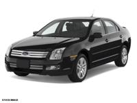 Black 2007 Ford Fusion SE FWD 5-Speed Manual Duratec