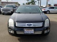 Options:  2007 Ford Fusion Sel|Black|Duratec 3.0L