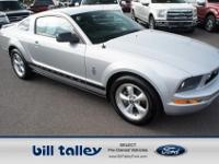 HAS A WARRANTY!..LOCALLY OWNED!...THIS MUSTANG COMES