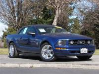 This 2007 Ford Mustang 2dr Convertible features a 4.0L