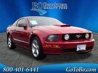 New Price! 2007 Ford Mustang GT Premium Torch Red