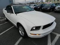This 2007 Ford Mustang Convertible is offered to you