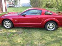 For sale My Cherry 2007 Ford Mustang GT. 4.6 ltr V-8 5