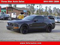2007 Ford Mustang GT Deluxe Coupe, V8, 4.6 Liter,