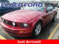 Recent Arrival! CARFAX One-Owner. 2007 Ford Mustang 2D