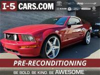 2007 Ford Mustang GT Deluxe RWD 5-Speed Manual TR3650
