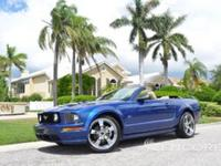 2007 FORD MUSTANG GT 2-DOOR CONVERTIBLE***1 FLORIDA