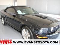 BLACK 2007 Ford Mustang GT Premium RWD 5-Speed