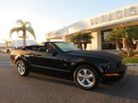 Options:  2007 Ford Mustang 2Dr Conv Gt Premium|Leather
