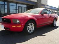 Exterior Color: red, Body: Convertible, Engine: V6