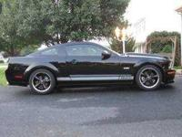 2007 Ford Mustang Shelby in Excellent Condition Black