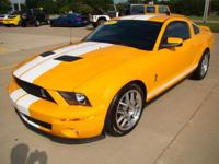 Enjoy this 2007 Shelby GT500 finished in the beautiful