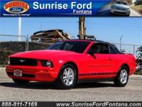 Allow us to introduce our 2007 Ford Mustang V6 Deluxe