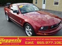 2007 Ford Mustang V6 Premium 4.0L V6 SOHC, 17 Service