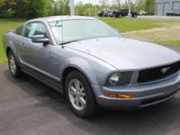 2007 FORD MUSTANG V6 DELUXE: 4.0L V6, AUTOMATIC, RWD,