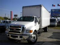 2007 Ford F650 Box Truck White/ Flint Interior