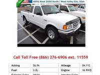2007 Ford Ranger SuperCab 4WD 2dr SuperCab 126 XL Truck