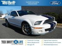 2007 Ford Mustang Shelby GT500 in Performance White