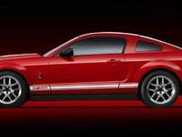 LOW MILES - 54,888! Shelby GT500 trim. Leather Seats,