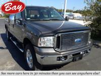 This 2007 Ford Super Duty F-250 Lariat is offered to