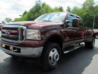 2007 Ford F-350 King Ranch Dually Diesel -loaded with