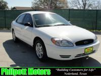 Options Included: N/A2007 Ford Taurus, white with gray