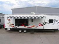 2007 Forest River Cherokee Wolf Pack Toy Hauler. This
