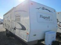 TRAVEL TRAILER  WITH SATELITE RADIO, FRONT BEDROOM,