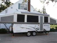 2007 Forest River Rockwood Pop Up Camper Travel Trailer