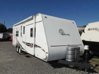 A 27' lite weight Travel Trailer with no Slide-Outs all