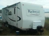 2007 Forest River Rockwood Ultra Lite Travel Trailer.