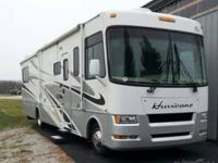 This 2007 Four Winds Hurricane 34S coach is loaded with