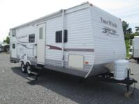 2007 Four Winds design 26B. This camper is 28' long