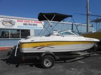 2007 Four WInns 180 Horizon W/ Trailer & Bimini top -