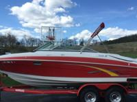 This 240H is a sport boat and deck boat rolled into