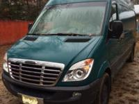 007 Freightliner Sprinter 2500, 170 WB, high roofing,